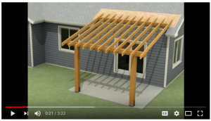 Video Peter Brown Design Patio Roof YouTube